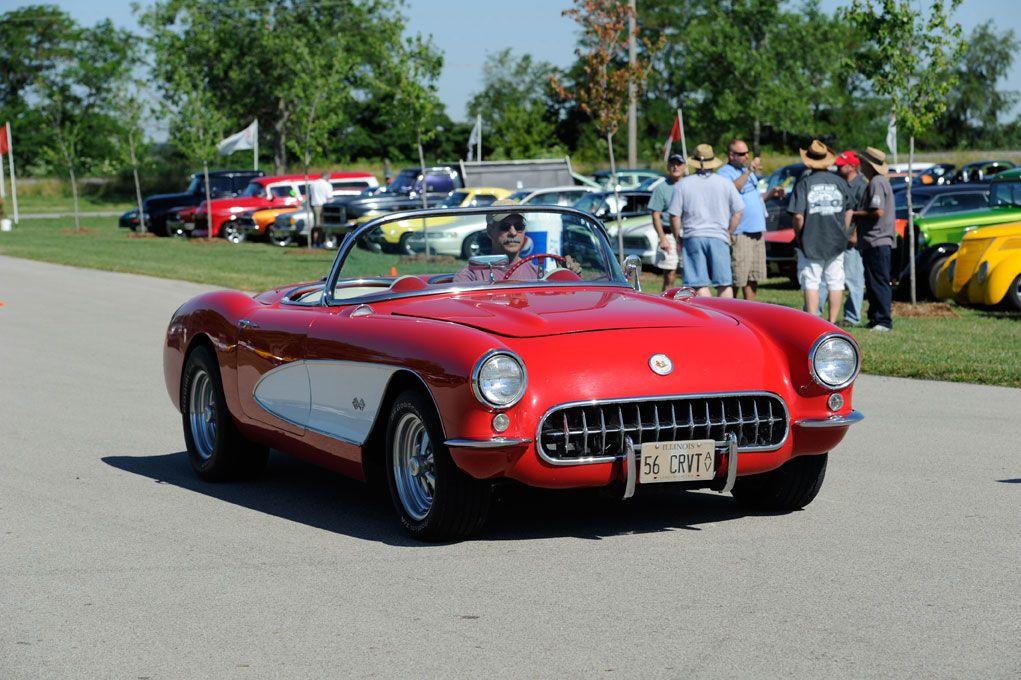 Hot Rod Power Tour Stops At Mid America Motorworks Corvette Hot Rods Cars Muscle Old Corvette