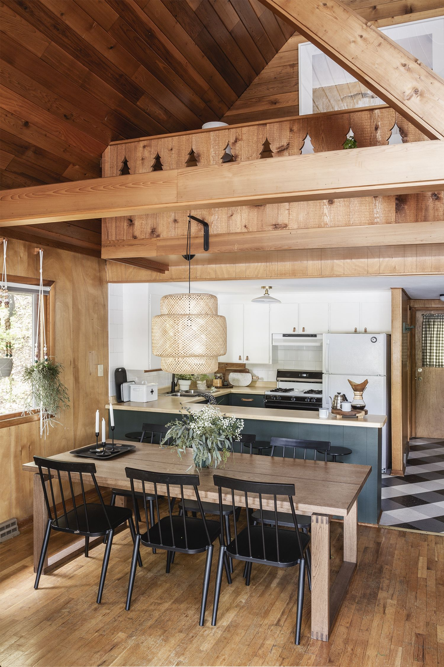 Cabin Kitchen Reveal #kitchencollection
