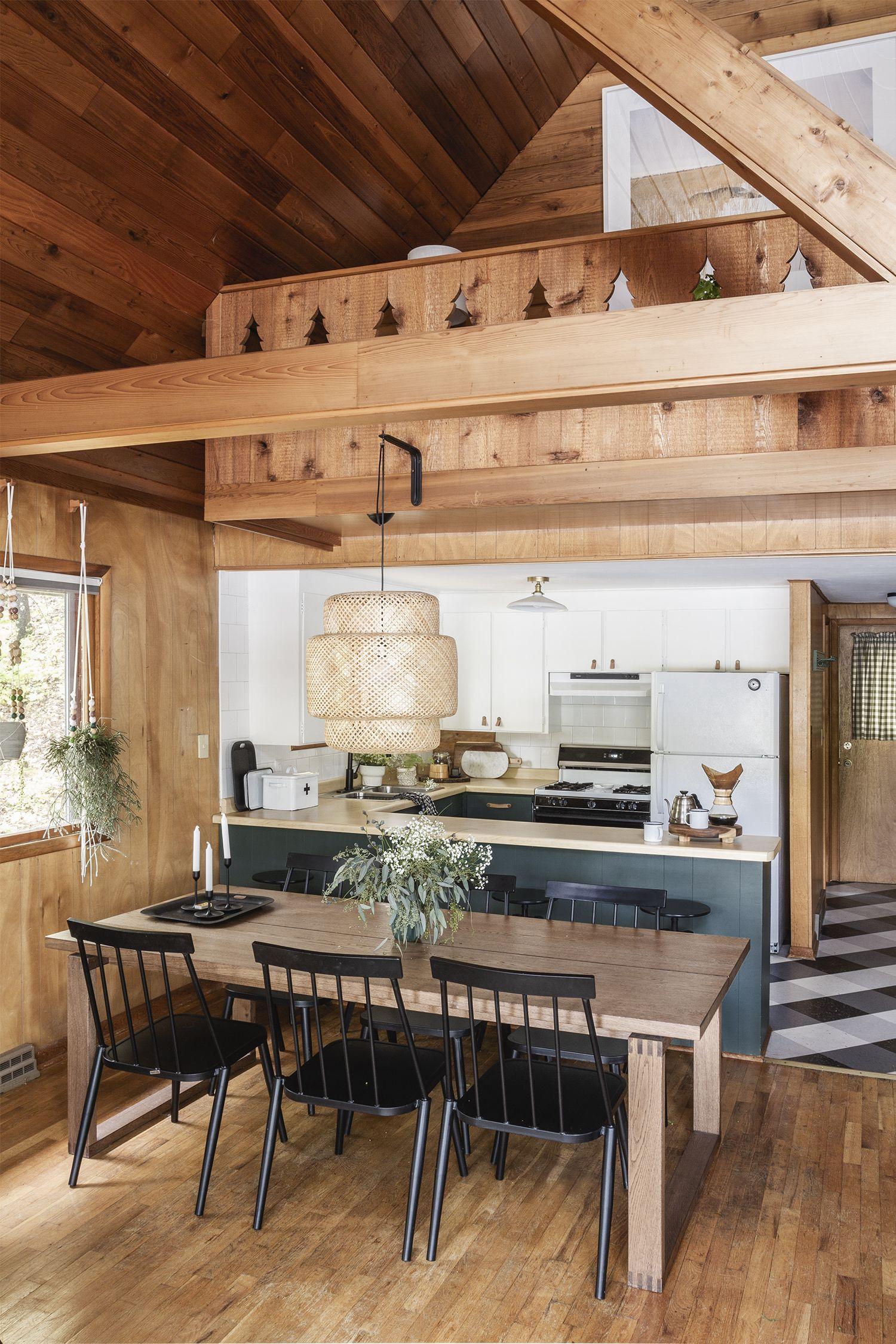 Cabin Kitchen Reveal Small cabin kitchens, Small cabin