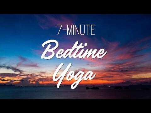 seven bedtime yoga routines to sleep better  bedtime yoga