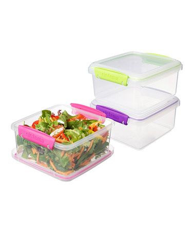 Take a look at this Pink, Purple & Green Small ToGo