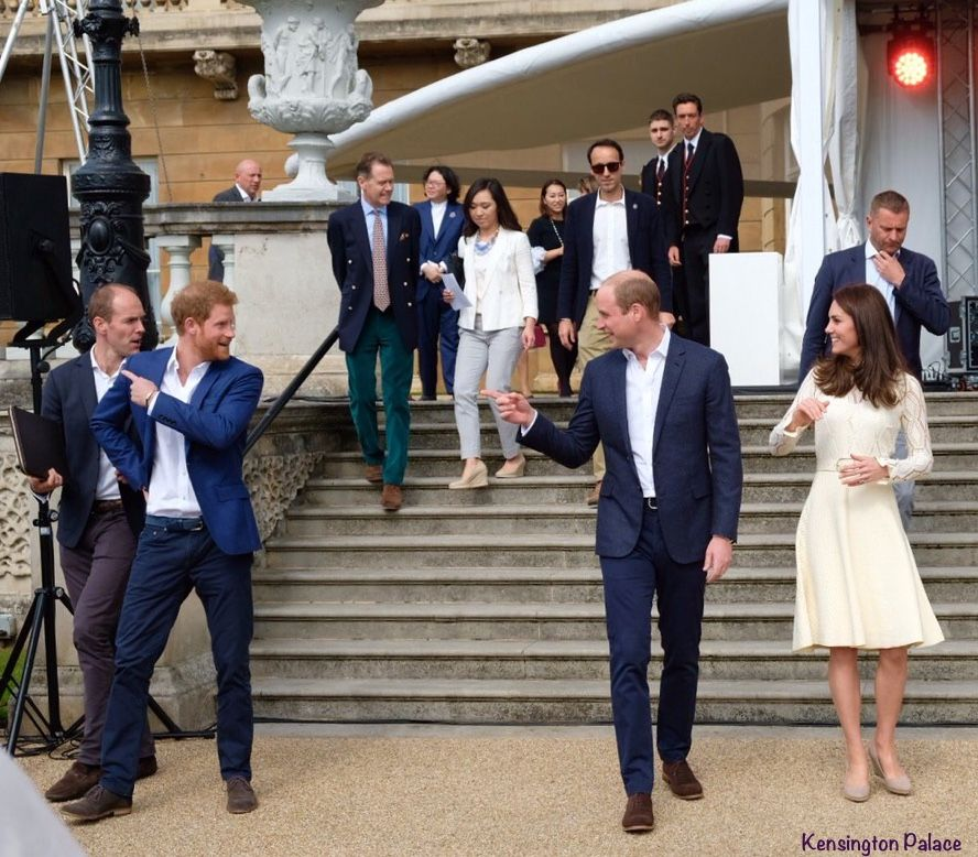 Party At Buckingham Palce With Prince Harry, Prince