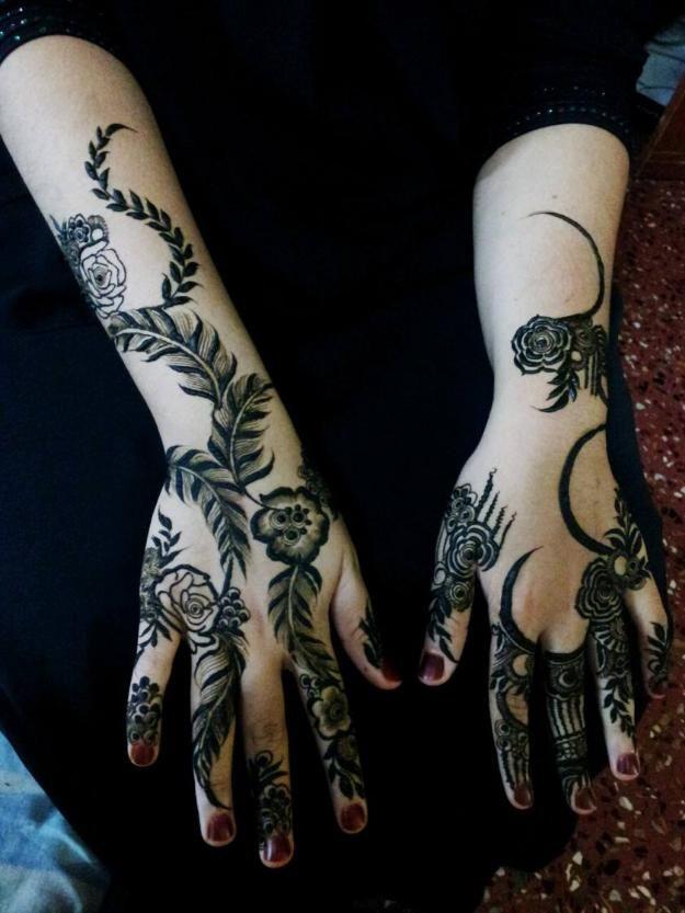 Arabic henna design from the Gulf  #khaleeji | Arabic Floral