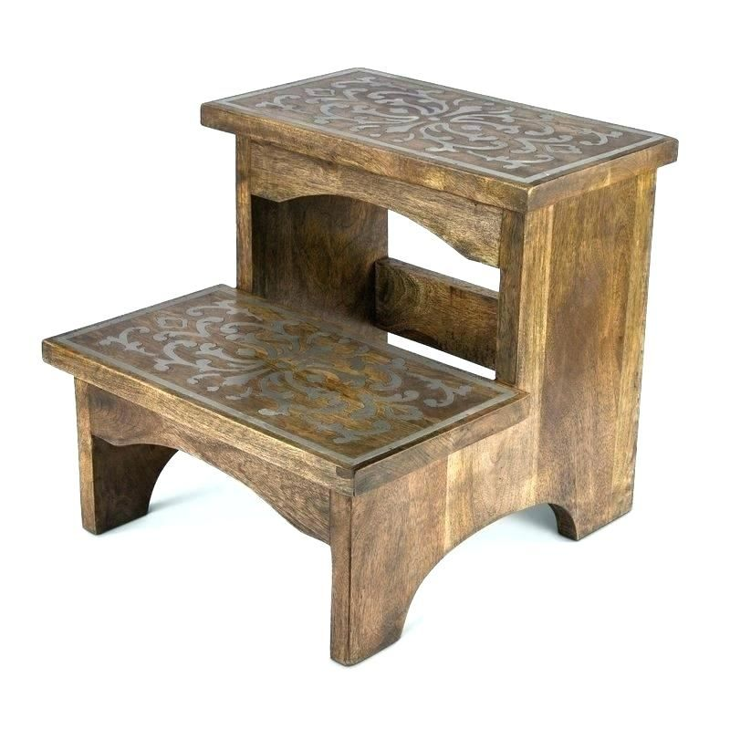Small Wooden Step Stool Wooden Step Stool Wood Step Stool Small