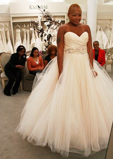 Shenelle Mays Say Yes To The Dress Google Search Wedding Dress Pictures Blush Wedding Gown Ball Gown Wedding Dress