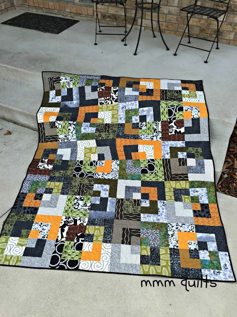 Musings of a Menopausal Melon - mmm quilts: Shift - Finished!