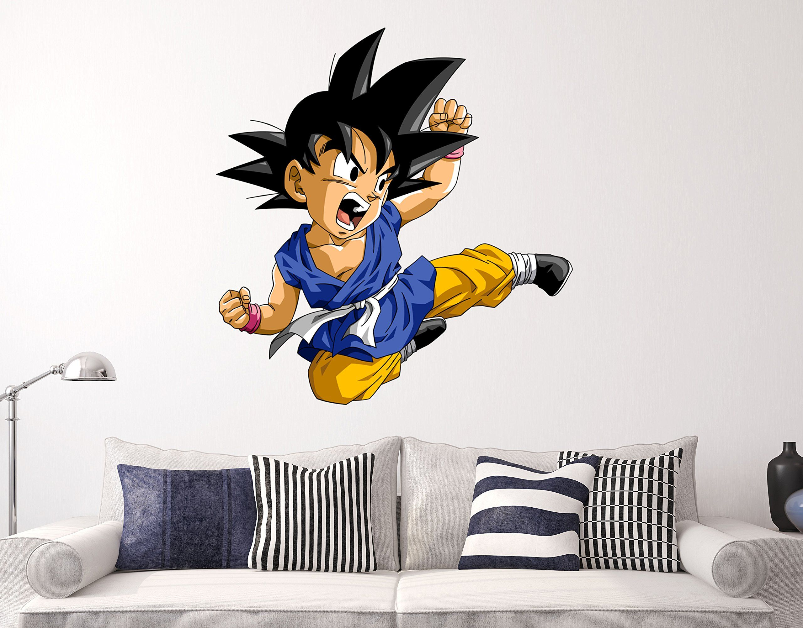 Goku babe dragon ball z wall decal animation anime sticker decor goku babe dragon ball z wall decal animation anime sticker decor vinyl hd awesome amipublicfo Images
