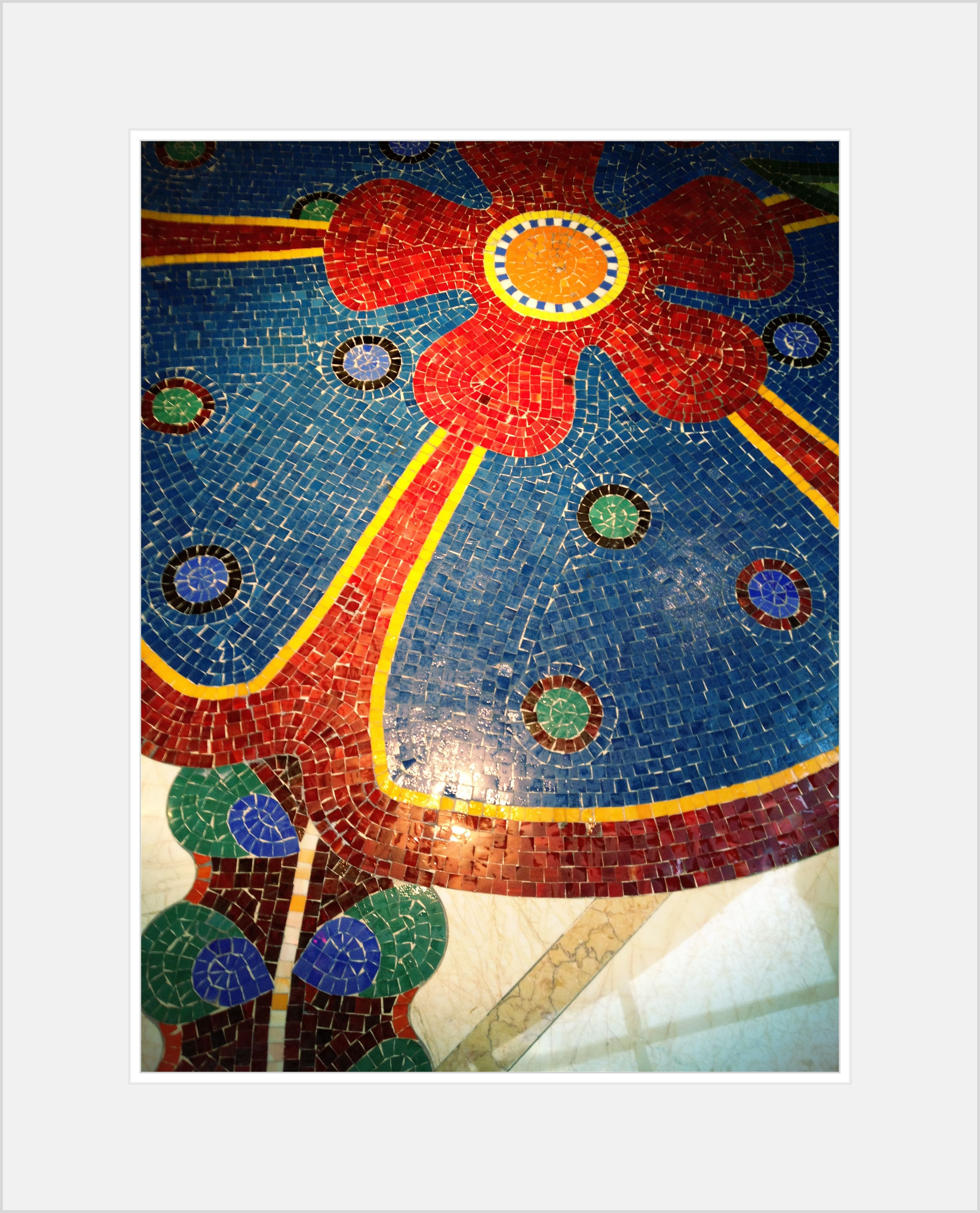 Colorful playful whimsical mosaic floor tiles design the wynn colorful playful whimsical mosaic floor tiles design the wynn las vegas dailygadgetfo Image collections