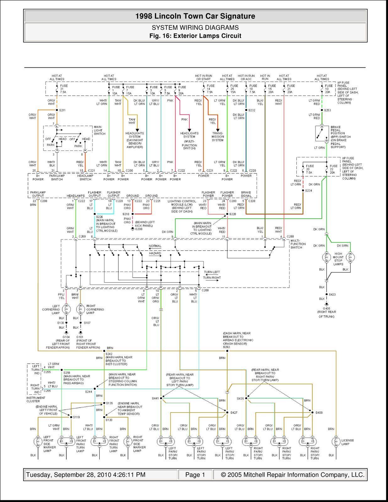12 1986 Lincoln Town Car Wiring Diagram Car Diagram Wiringg Net In 2020 Lincoln Town Car Car Alternator Car