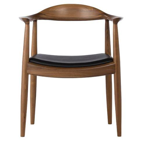 Hans J Wegner The Chair Walnut Walnut High Quality Version Hans