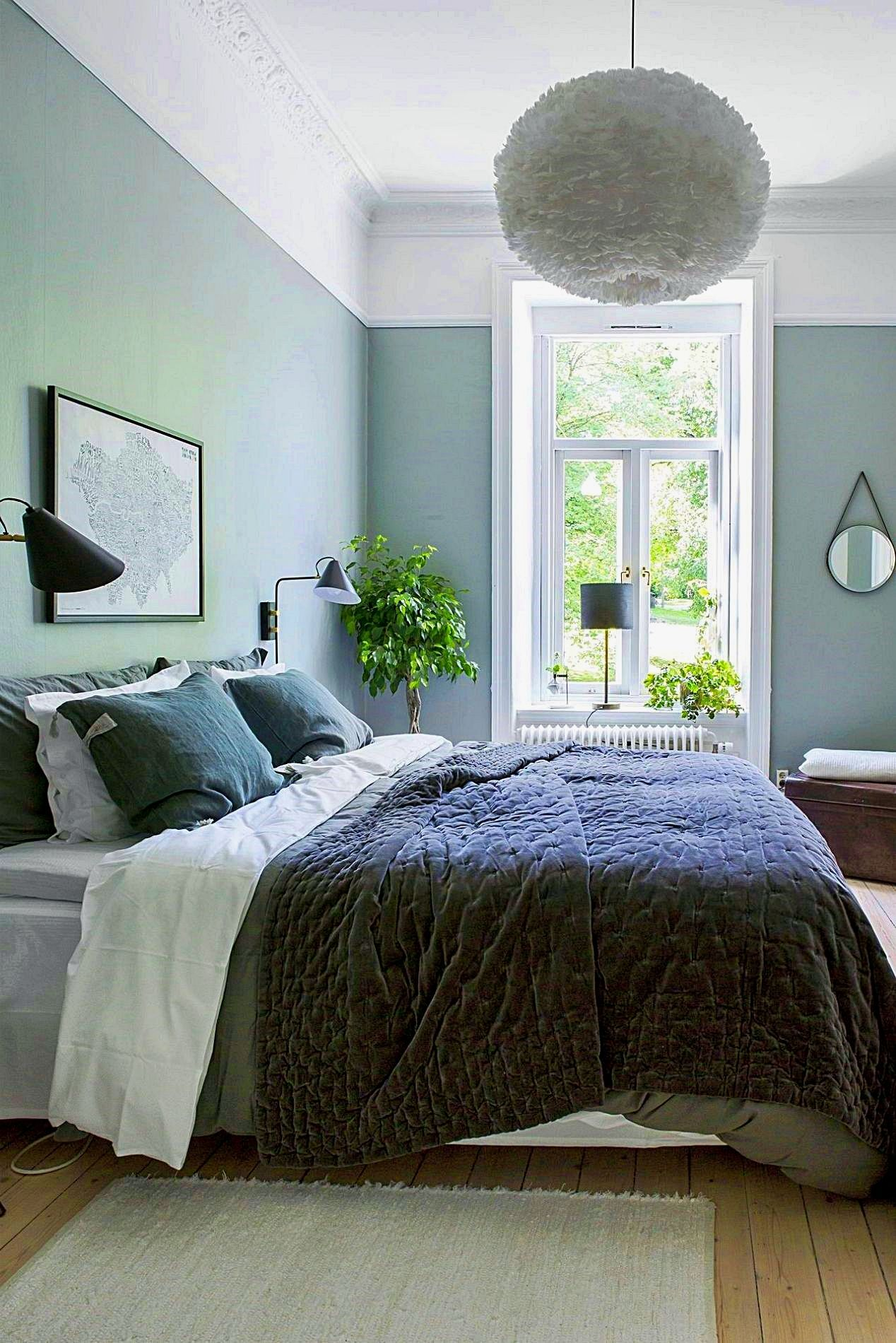 Colour Palette: Multi-Coloured Bedroom