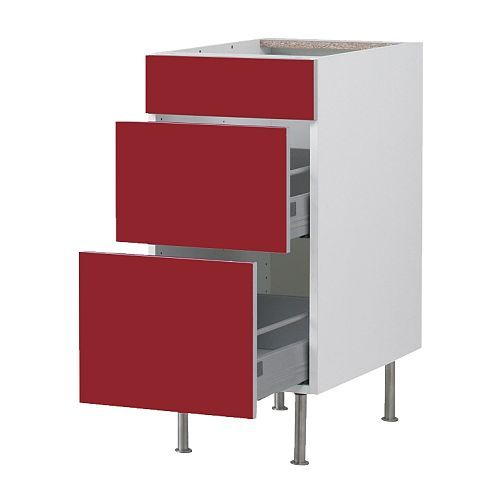 FAKTUM Base Cabinet With 3 Drawers