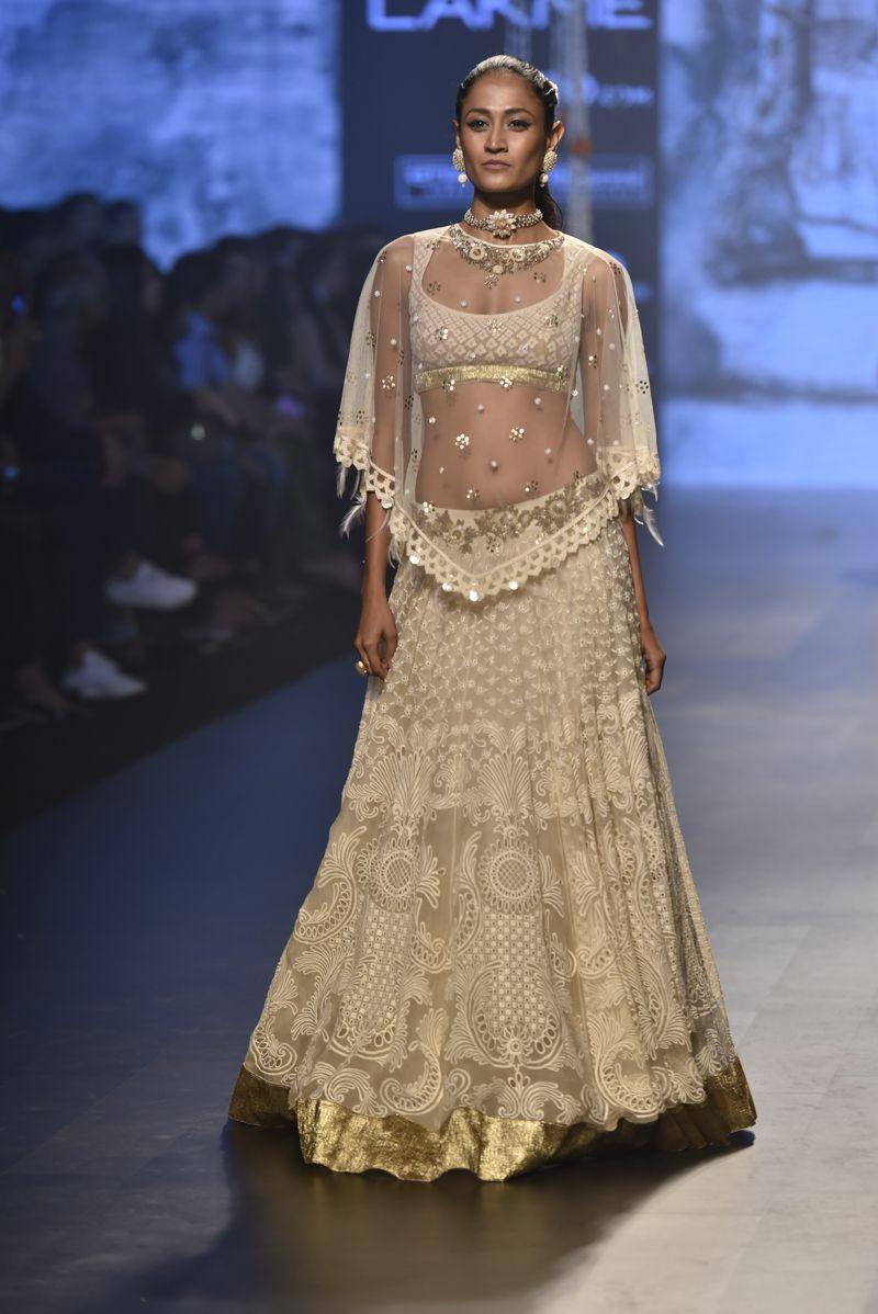 Tarun Tahiliani | Lakme Fashion Week Summer Resort 2017 #PM #LFWSR2017 #indiancouture