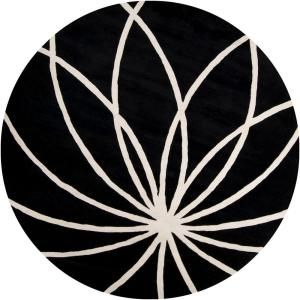 Artistic Weavers Michael Black 9 Ft 9 In Round Area Rug