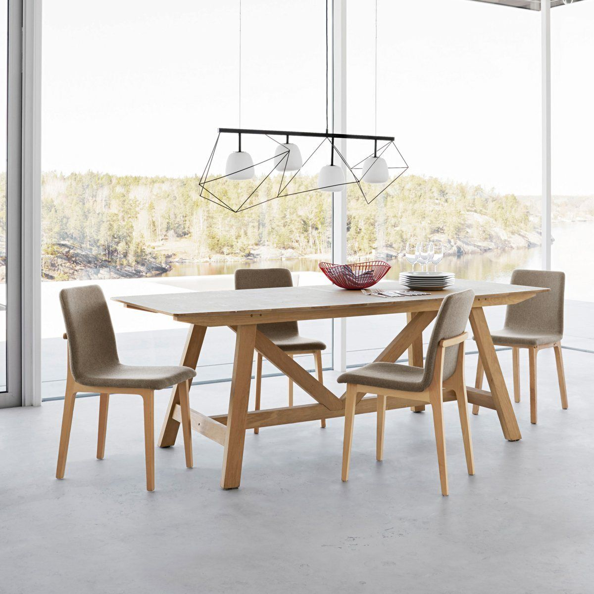 marvelous chaise pour table en bois #12: 100 photos de meubles ... - Chaise Pour Table En Bois