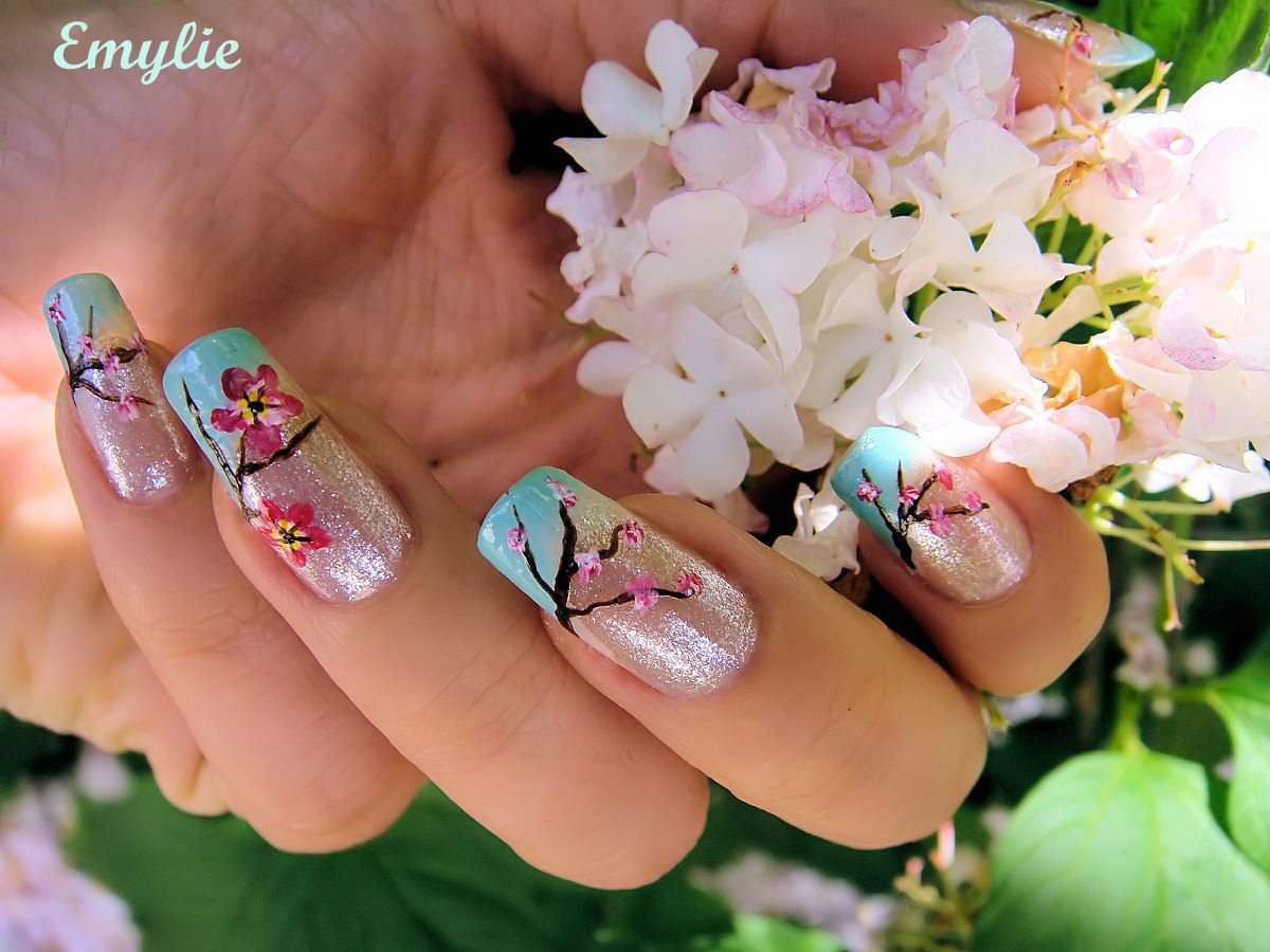 Well we are share this recently spring nail polish color, nail art ...