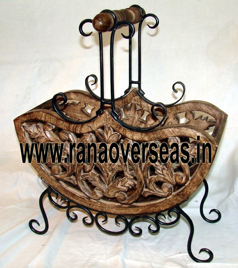 Wooden Magazine Rack Rana Overseas leading Manufacturer, Supplier and Exporter of Wooden Magazine Racks, Wooden Magazine holders, Wooden Magazine Stands, Newspaper racks and Newspaper holders
