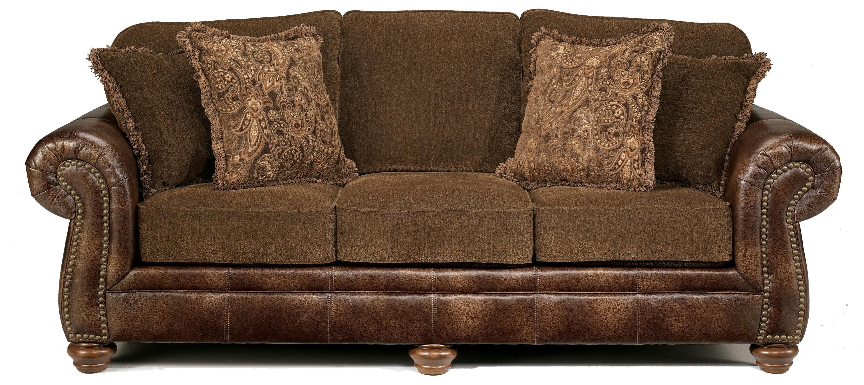 Best Harrington Truffle Stationary Sofa By Signature Design 400 x 300