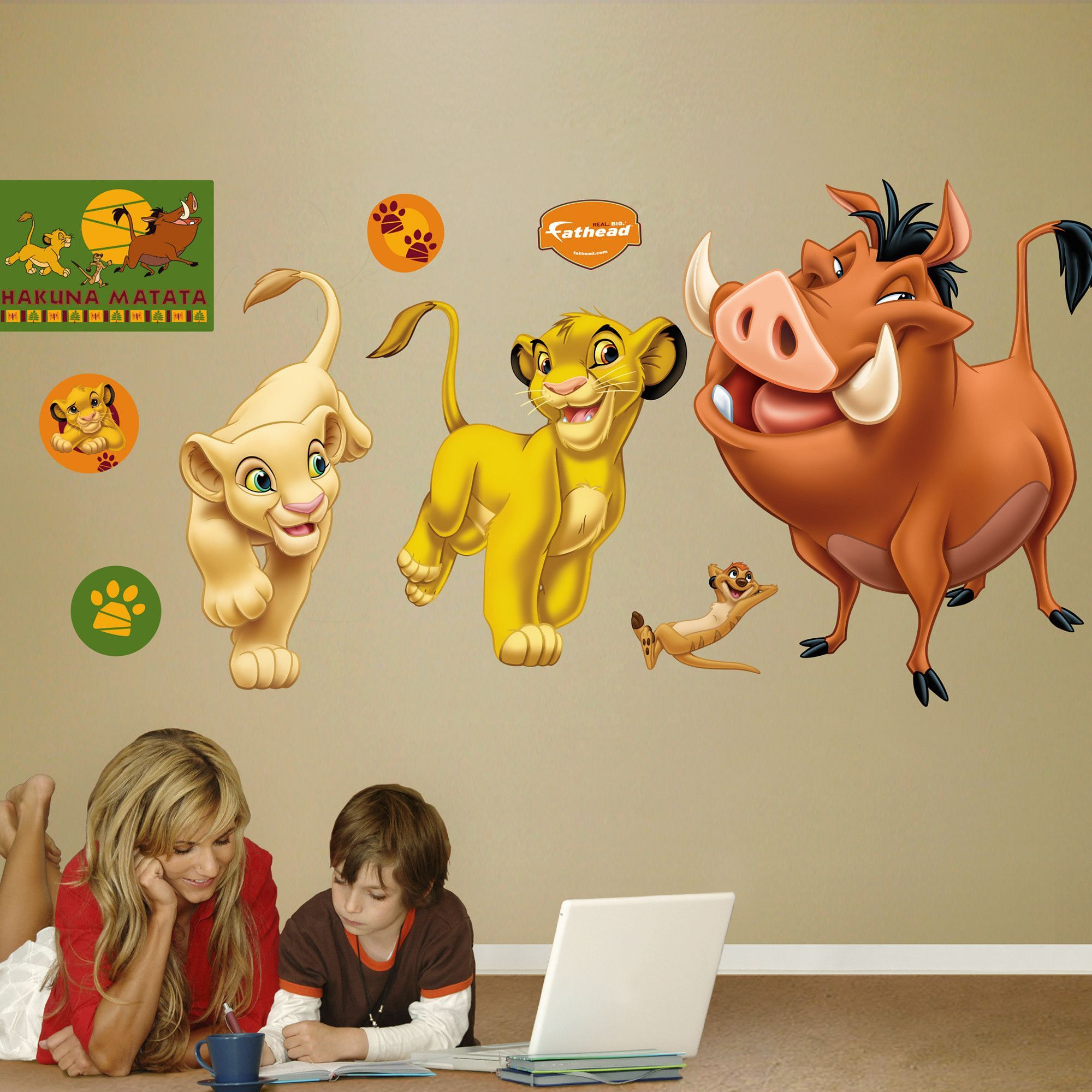 Fans Of The Lion King, Prove Your Dedication By Putting Your Passion On  Display With A Giant The Lion King Wall Decal From Fathead!