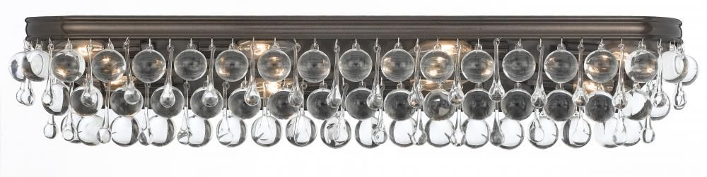 Eight Light Vibrant Bronze Vanity : 2GGFG | Bright Light Design Center