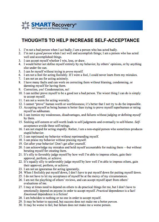 Drug addiction treatment worksheets