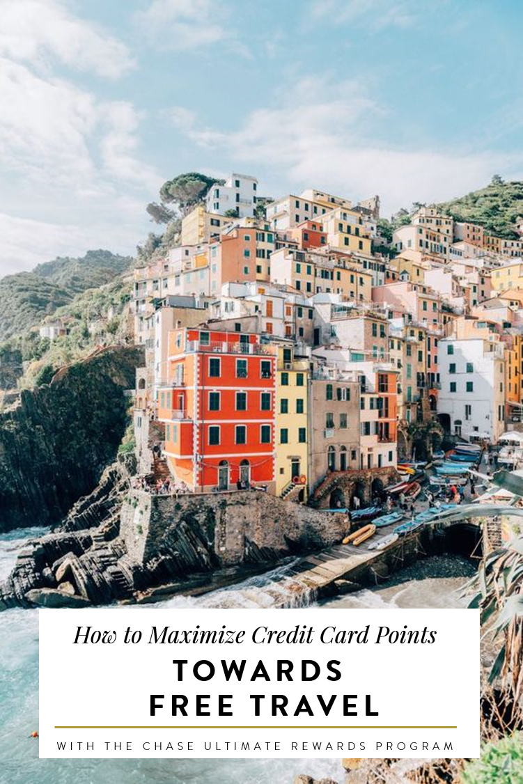 Maximize Your Credit Card Points W Chase Ultimate Rewards Travel Portal Packing Lists