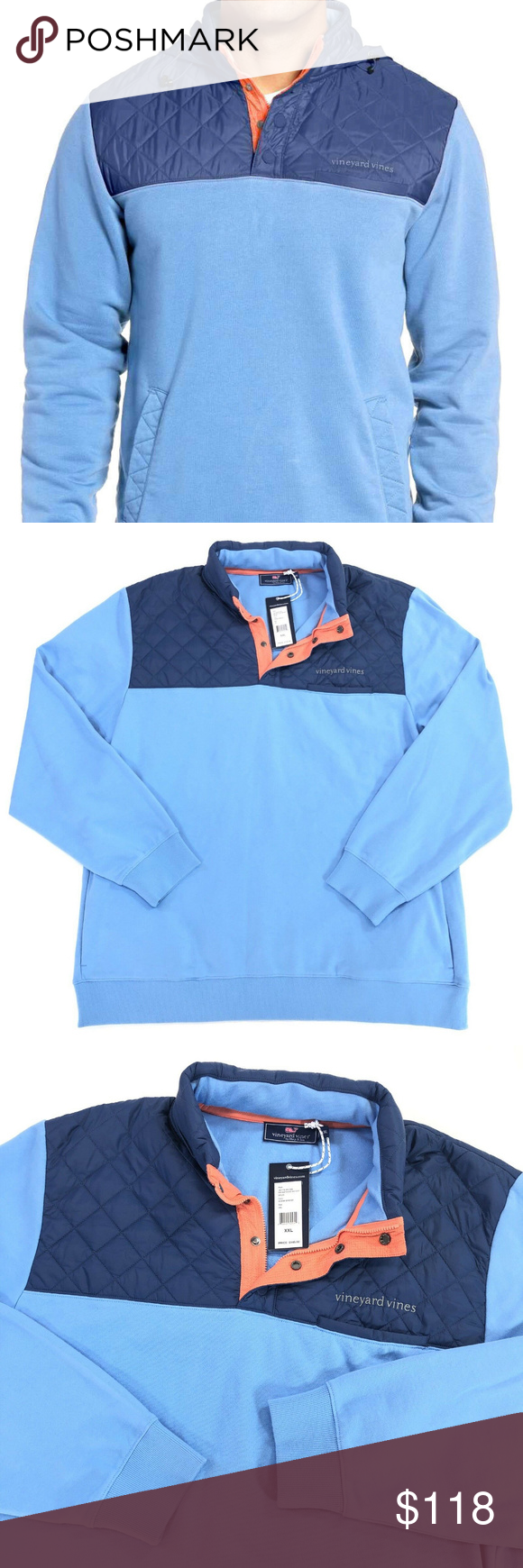 Vineyard Vines Quilted Pullover