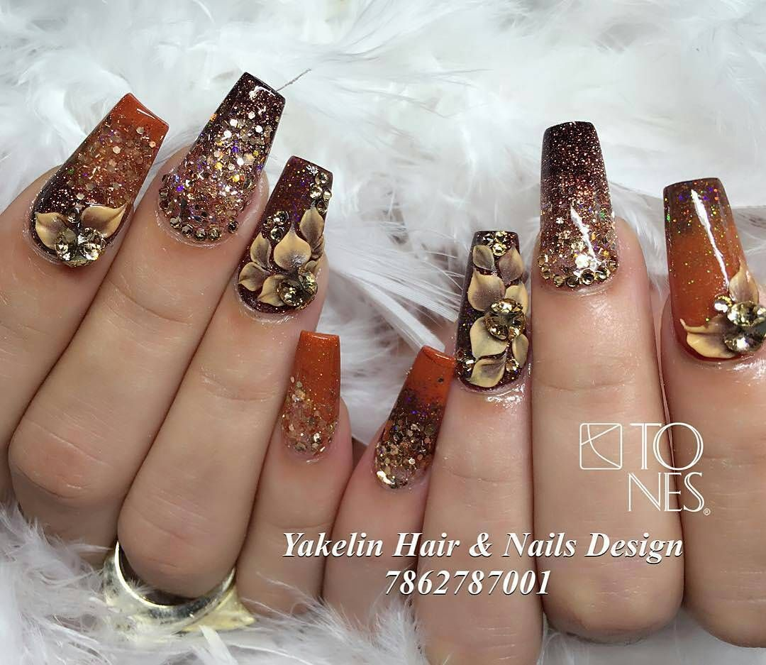 Tones Nail Art Examples | Nails & make up | Pinterest | Diseños de ...