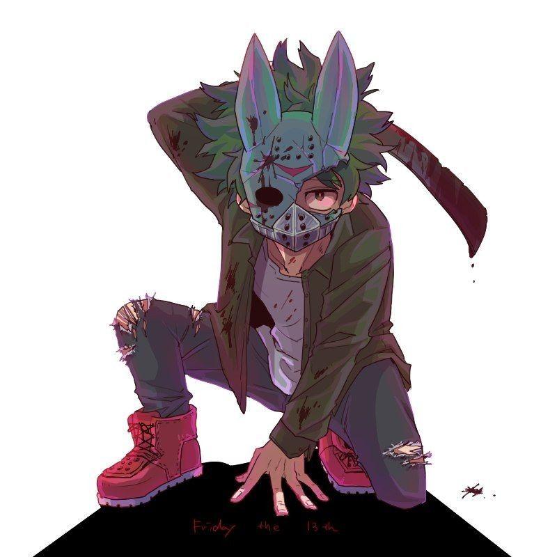 My Hero Academia Bnha Villain Izuku Midoriya Deku Quirk One For All Villain Deku Hero Hero Academia Characters