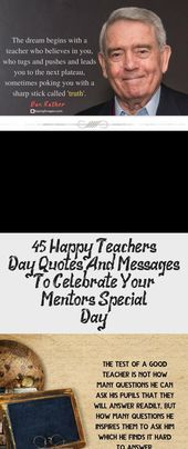 45 Happy Teacher's Day Quotes And Messages To Celebrate Your Mentor's Special Day - Quotes  30 Happy Teachers Day Quotes and Messages #sayingimages #happyteachersday #happyteachersdayquotes #quotes     This image has get 0 repins.    Author: Silvia Sue Blog's #Celebrate #Day #Happy #Mentors #Messages #quotes #Special #Teachers #mentorquotes