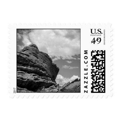 Colorado Mountains Stamps - white gifts elegant diy gift ideas