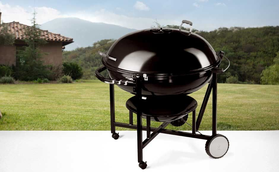 Ranch Kettle Charcoal Grill 37 Black Charcoal Grill Outdoor