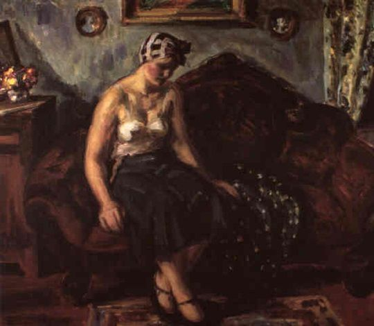Louis Ritman - Girl on Couch
