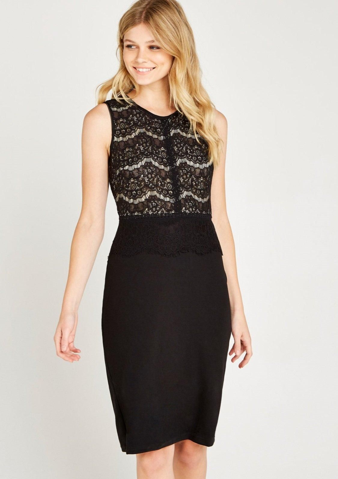 Apricot Spitzenkleid »Ditsy Printed Lace Skater Dress« für Damen