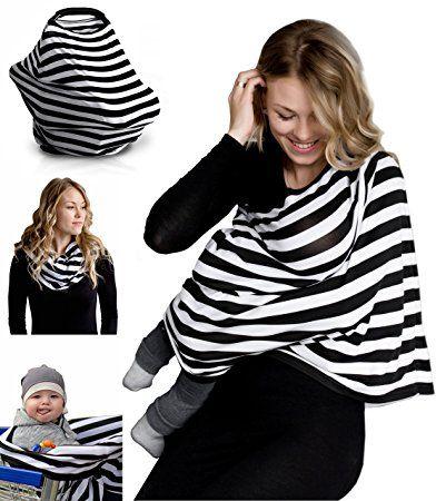 Nursing Breastfeeding Cover Scarf - Baby Car Seat Canopy, Shopping - nursing cover