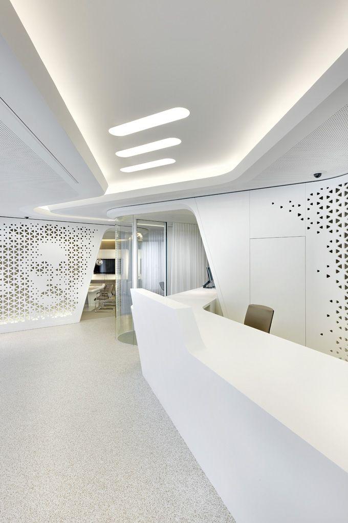 Raiffeisen Bank Zurich Office Interior Design Futuristic