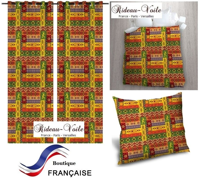 couette rideau coussin tissu textile motif imprim pagne wax style africa tissu imprim motif. Black Bedroom Furniture Sets. Home Design Ideas