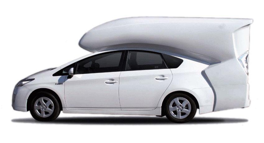 Prius Plus This Add On Transforms Your Toyota Into A Camper
