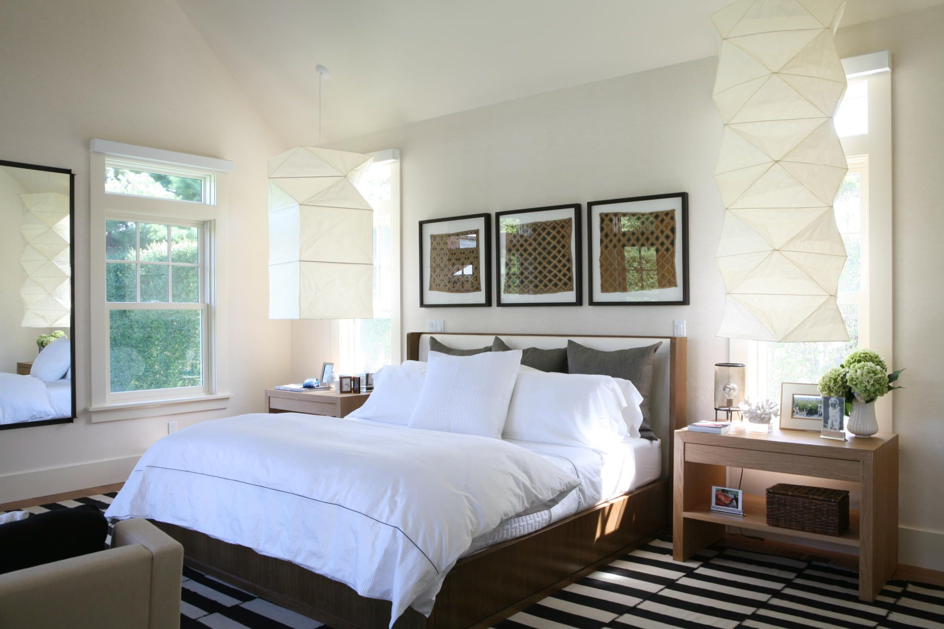 Contemporary Beach Bedroom Foley Interiors Bridgehampton Foleyand Designshuffle
