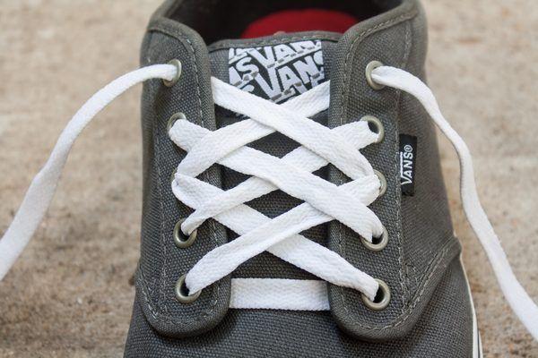 Shoe lace patterns, Ways to lace shoes