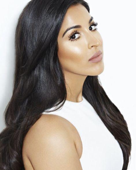 Farah Dhukai for NYX Cosmetics Hair by Octavio Molina