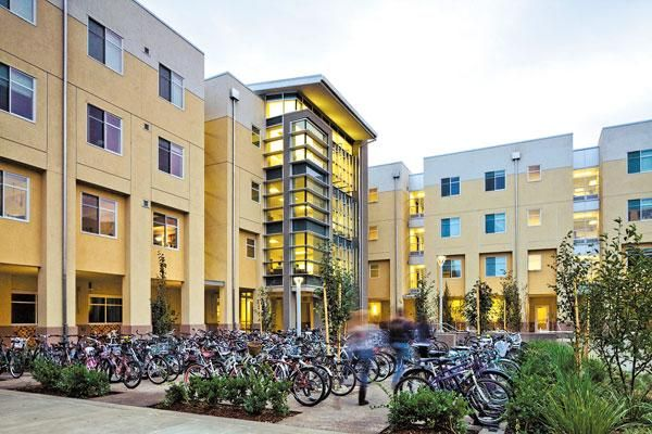 Tercero South Building One Now Called Kearney Hall At Uc Davis