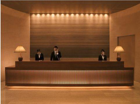 Front Desk Hotel Reception Desk Hotel Reception Lobby