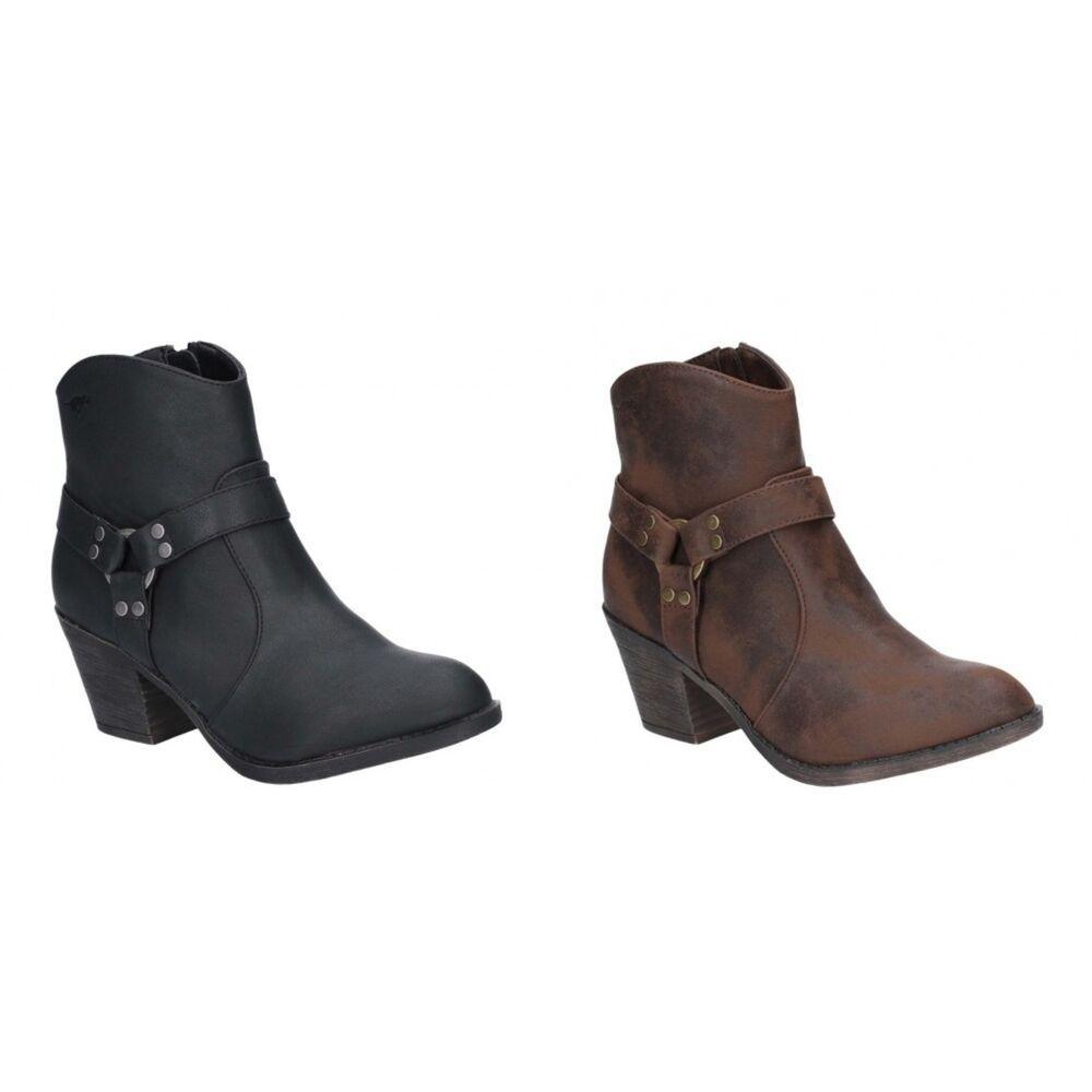 REPLAY Puppy Stiefel Stiefeletten Boots Damen Leder