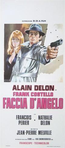 The Godson (Le Samourai) Vintage Original Movie Poster   Italian ...