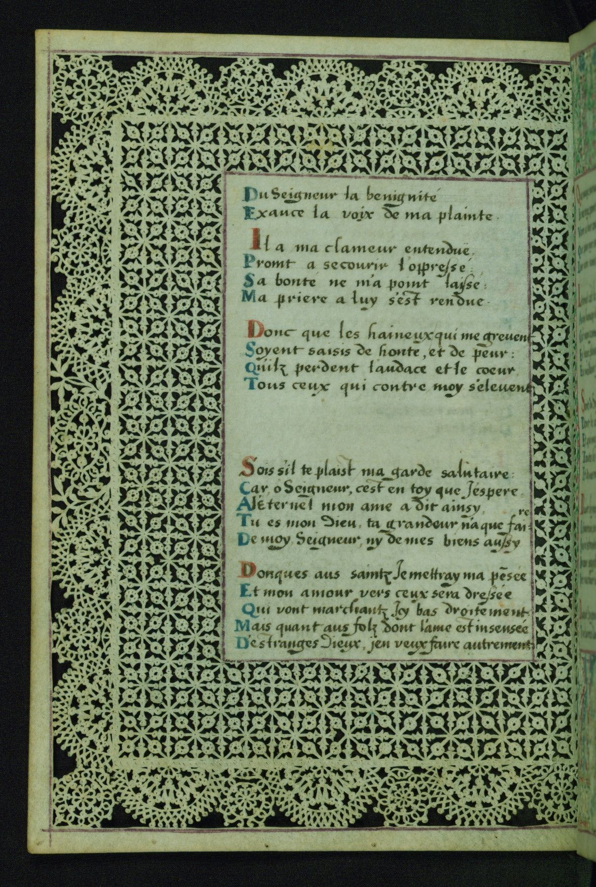 W.494, LACE BOOK OF MARIE DE' MEDICI.  32. Fol.  10v