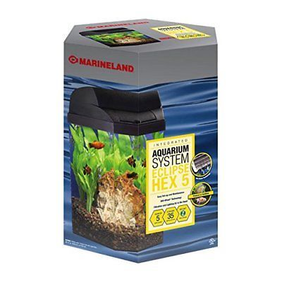 Filter Media and Accessories 126476: Marineland Eclipse Hex Escape 5 With Led 3C -> BUY IT NOW ONLY: $68.9 on eBay!