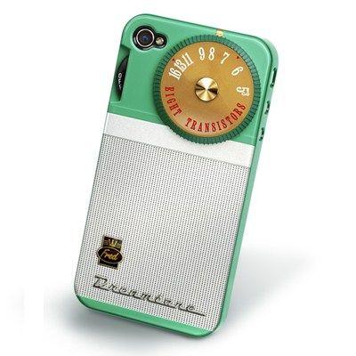 Capa para iPhone 4 e 4S Recover Rádio Retro
