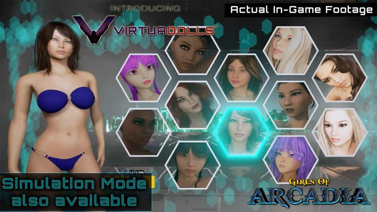 Virtual reality online sex games