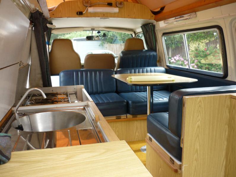 Toyota Hiace Interior Campervan Interior Van Interior